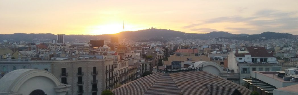 Places to stay in Barcelona with large terraces