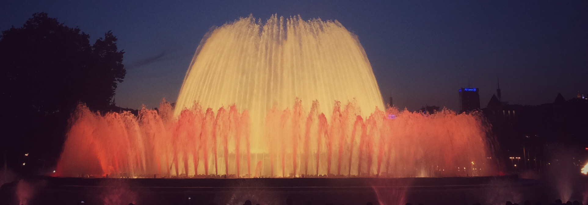 Magic Fountains, Barcelona