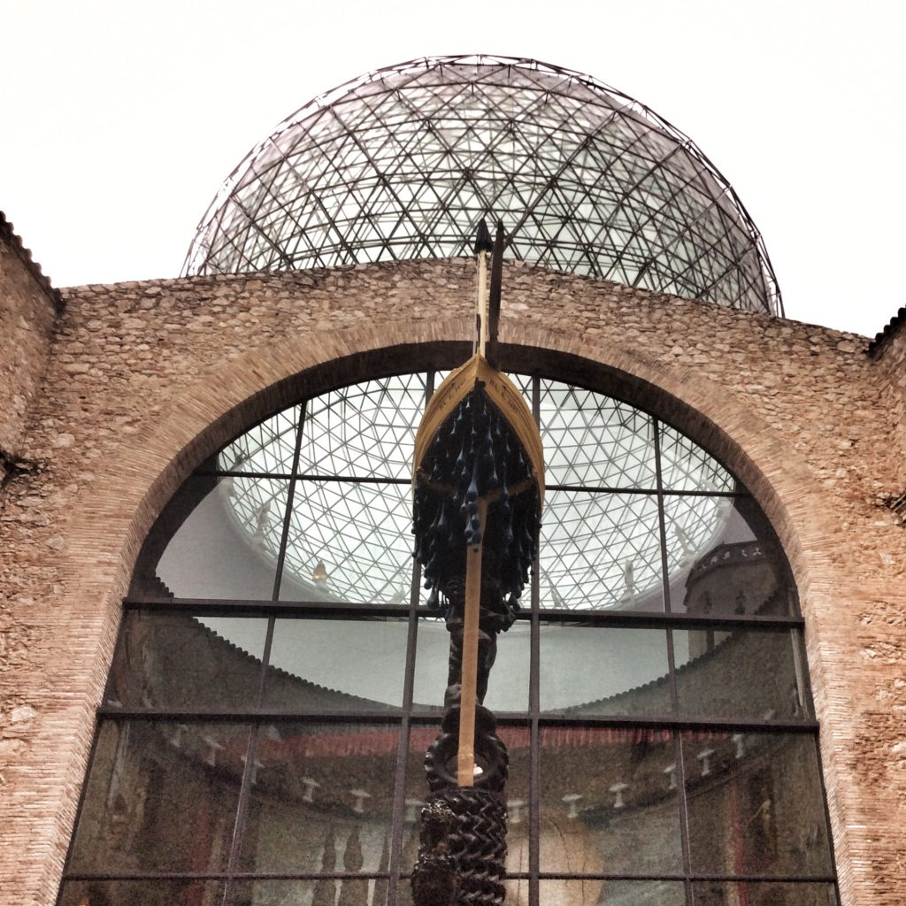 dome of the Dali Museum in Figueres