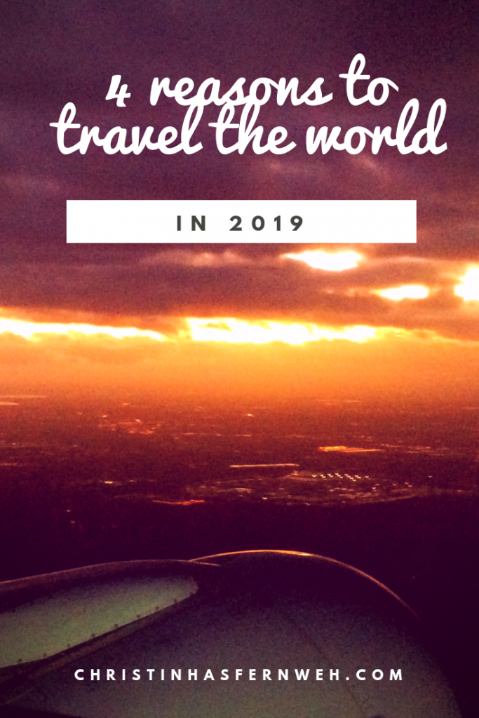 travel the world: resolution for 2019
