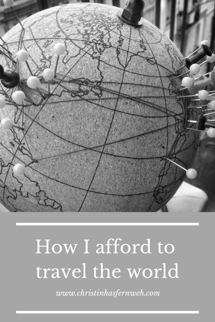 how do I afford to travel the world