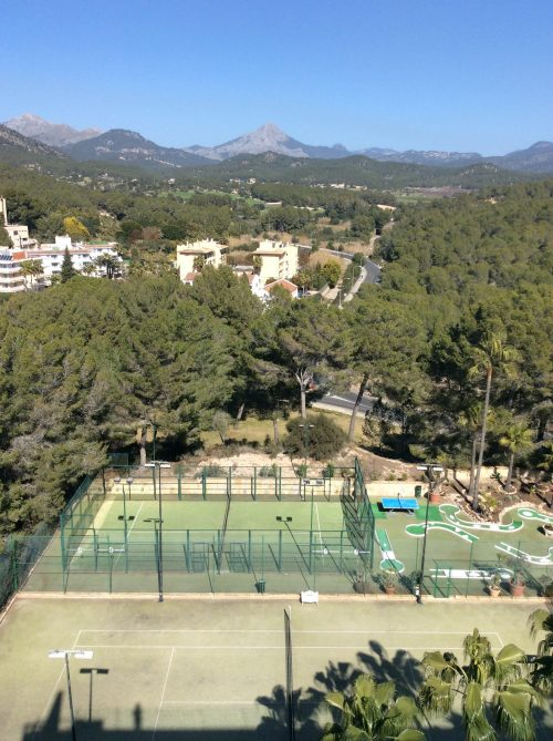 sports facilities of our hotel on Mallorca