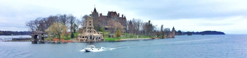 Bolt castle in 1000 islands