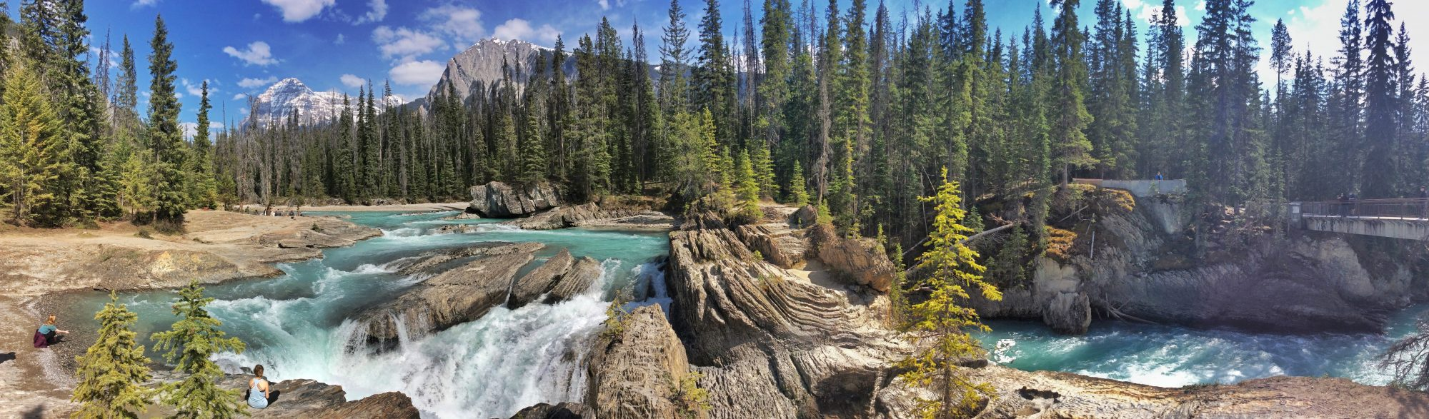 Athabasca Falls on the Icefields Parkway, Canada
