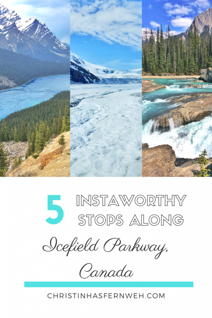 5 instaworthy stops along the Icefield Parkway