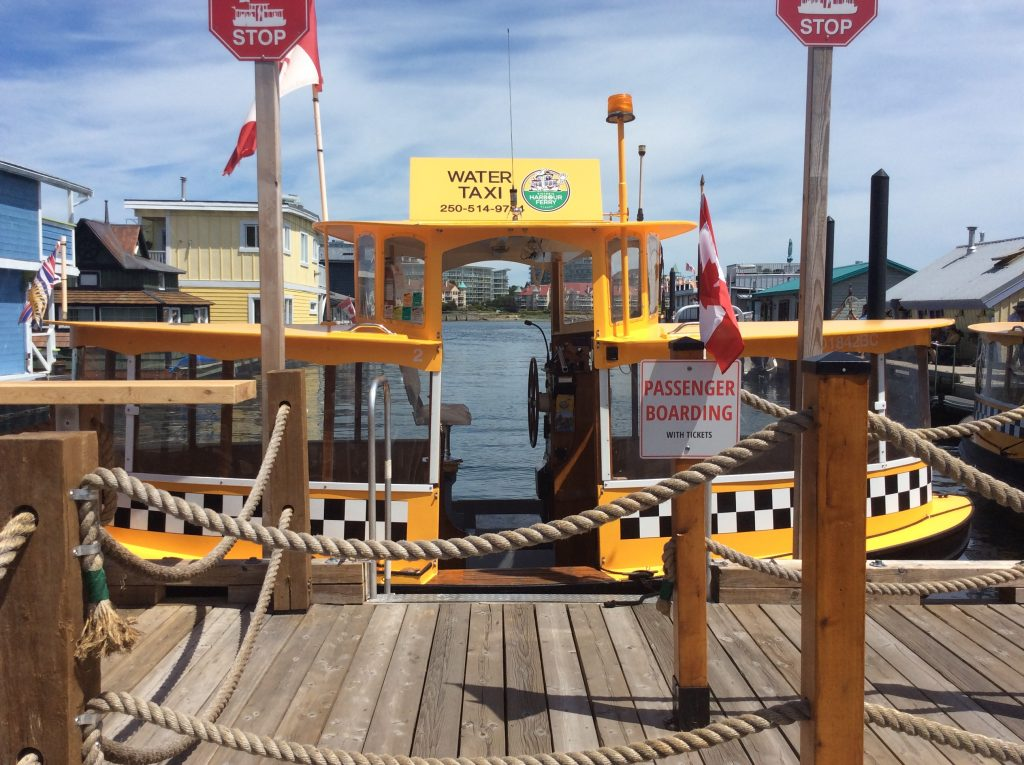 Water taxi in Victoria, BC