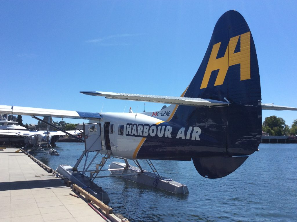 Sea plane I took in Victoria, BC