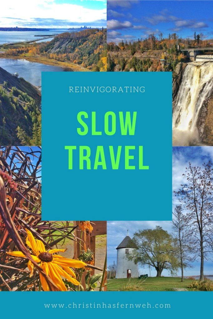 Reinvigorating Slow Travel