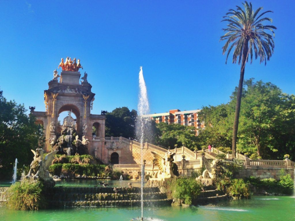 Cascade Fountain at Park de la Cuitadella