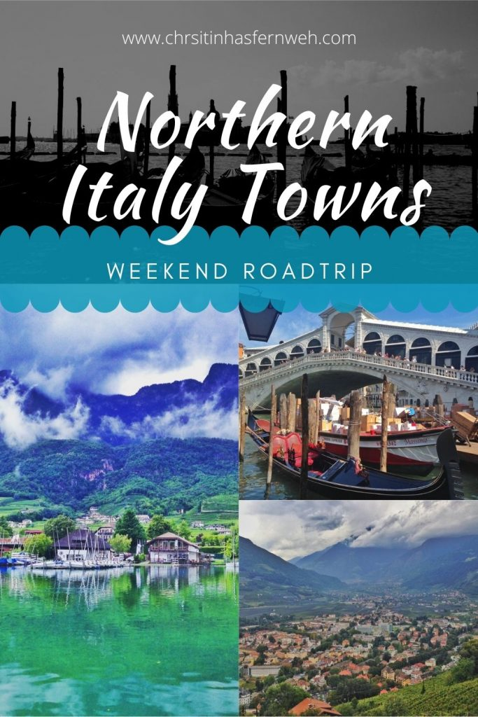 Northern Italy Town pin