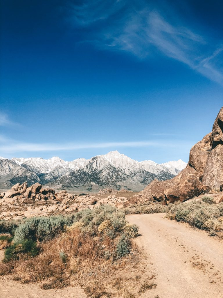 best camping destinations_ Alabama Hills