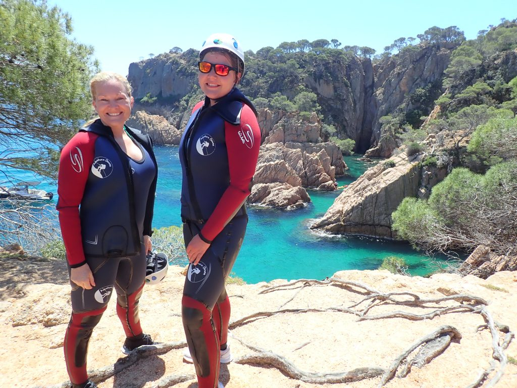 Sally and I on our coasteering tour