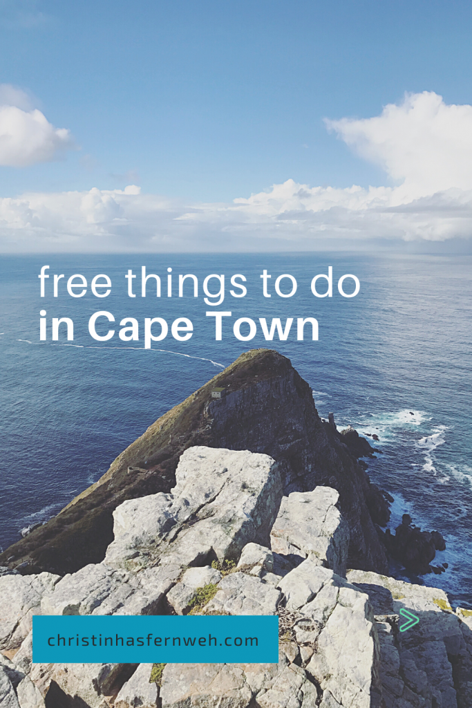 Free things to do in Cape town Pin